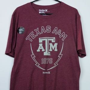 Texas A&M Aggies Shirt Hurley Size Large NWOT